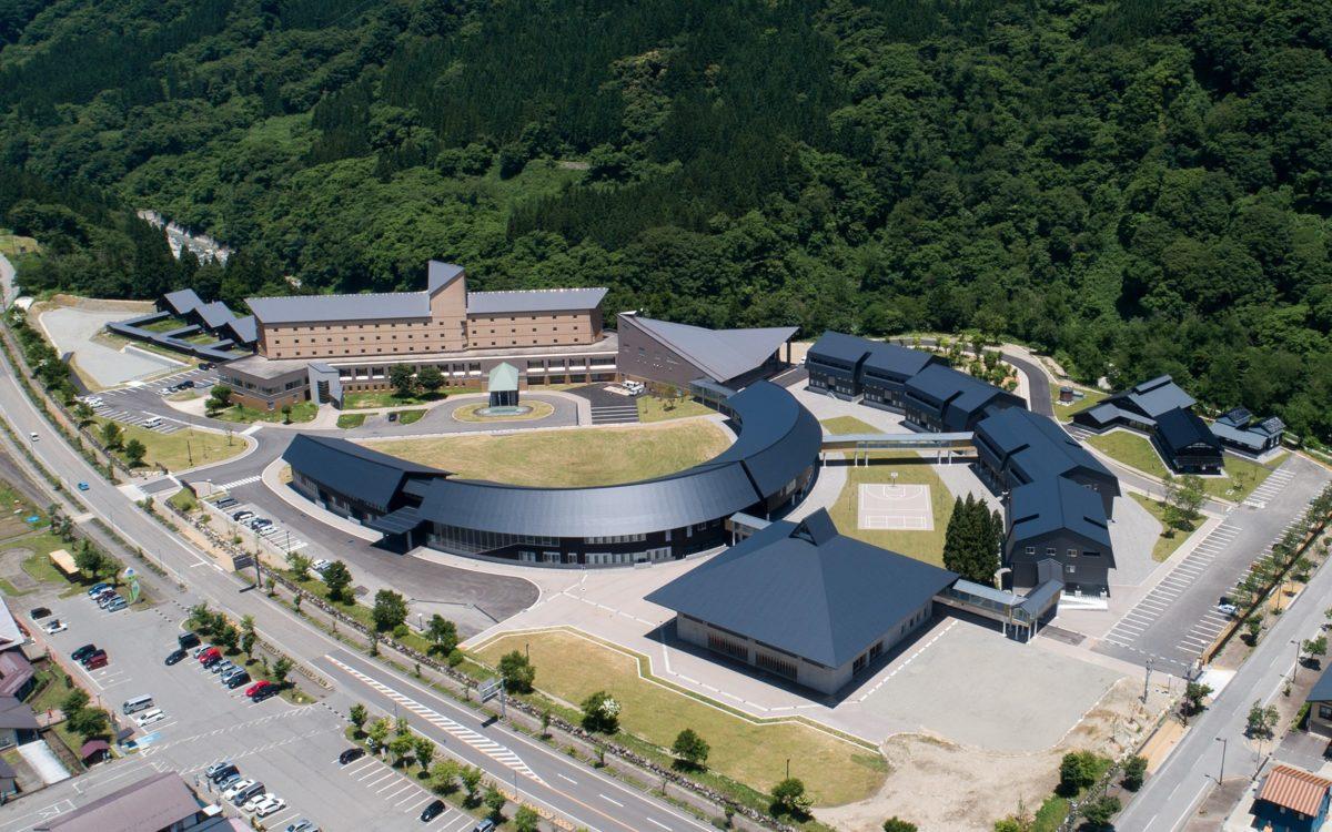 白山麓キャンパスが石川県デザイン展 知事賞を受賞しました。