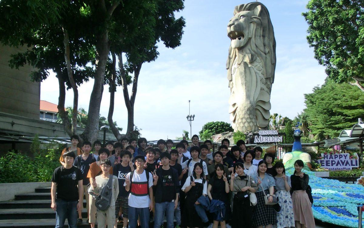 平成30年度シンガポール修学旅行
