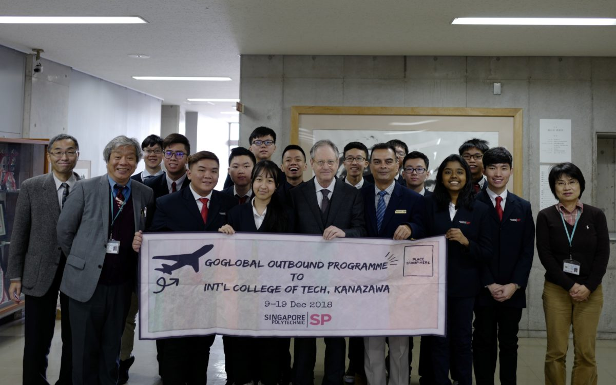 12 Students Visited from Singapore Polytechnic