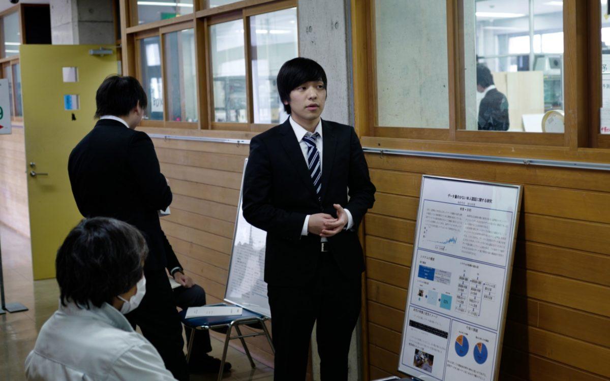 各学科の5年生による卒業研究発表会2日目が開催されました。