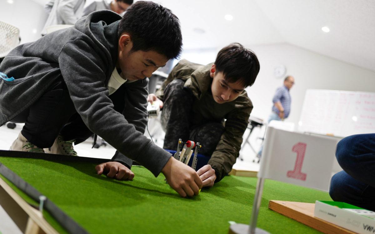 ロボットゴルフ大会2019を開催しました。