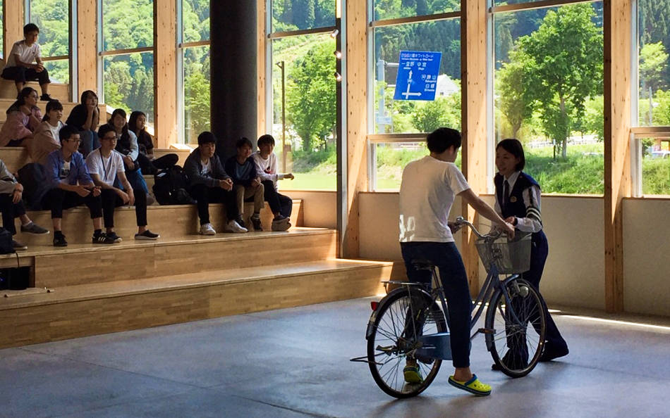 自転車安全講習会(白山麓キャンパス)を実施しました。