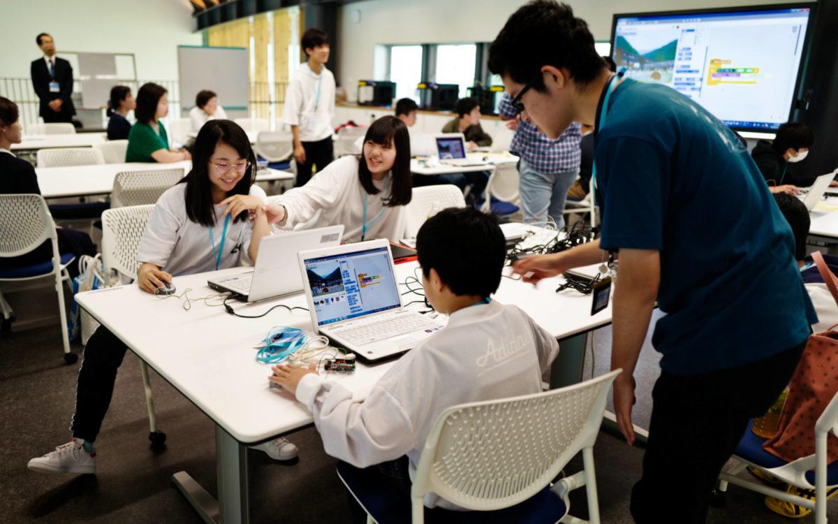 学校見学会が開催されました。