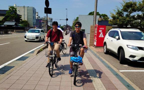国際高専の学生が参加するSmart City Projectがレンタサイクルを使った「金沢満喫スタンプラリー」を開催します。