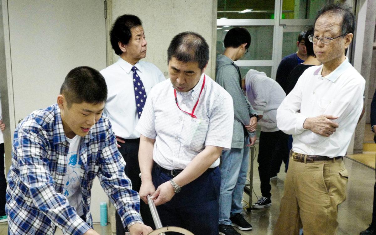 ロボコン動作審査会が開催されました。