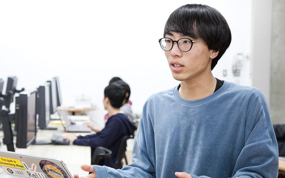 学生インタビュー 福田一之さん