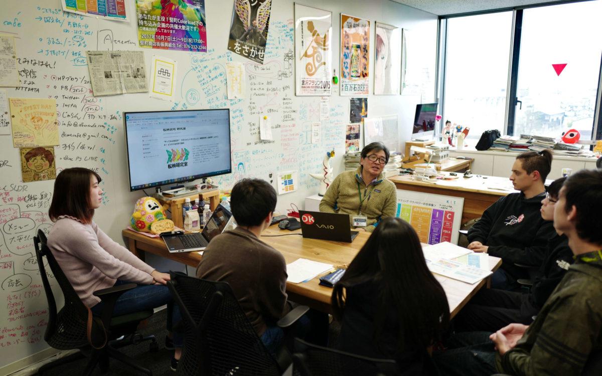 金沢工業大学の各学科と研究室を見学する大学インターンシップを開催しました。