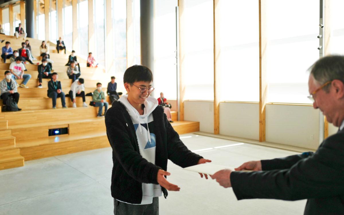 ICTリーダーシップアワード授与式が行われました。
