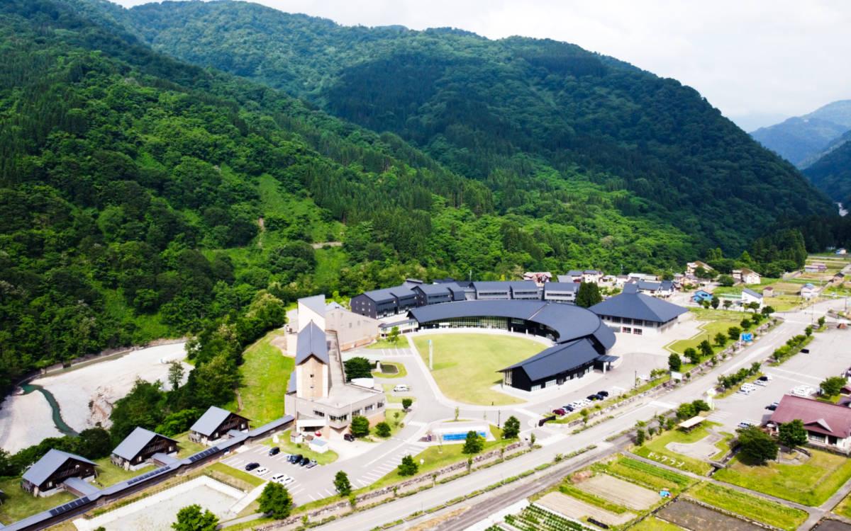 6月の白山麓キャンパス ドローン映像