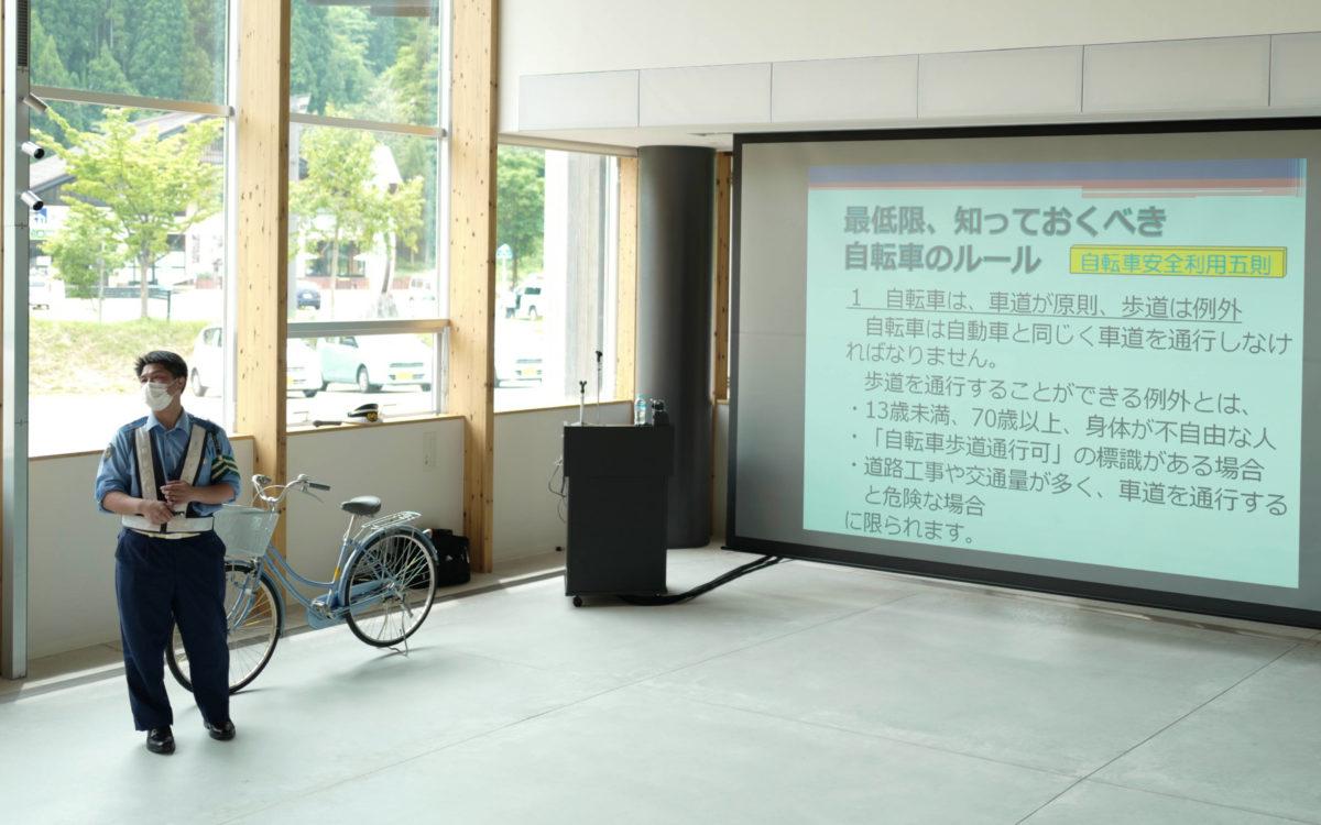 交通安全講習会が開催されました。
