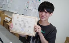 卒業生(吉田英聖さん)が金沢工業大学のテレビ番組 「物語の始まりへ」に取り上げられました。