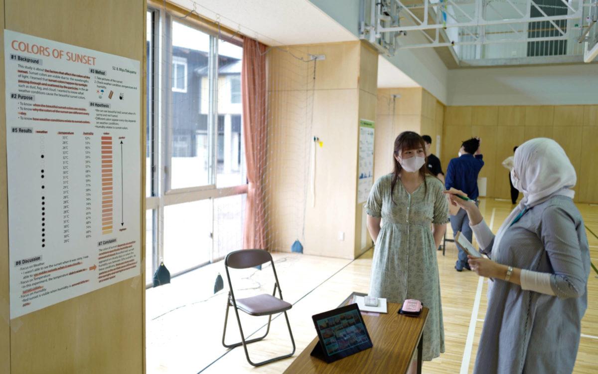 2年生のSTEMフェアが開催されました。